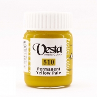 گواش وستا  رنگ زرد کد510
