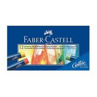 پاستل روغنی 12 رنگ فابر کاستل سری Creative Studio
