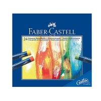 پاستل روغنی 24 رنگ فابر کاستل سری Creative Studio