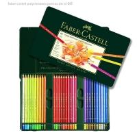 مداد رنگی پلی کروم 60 رنگ فابر کاستل