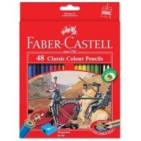 مداد رنگی 48رنگ کلاسیک جعبه مقوایی فابر کاستل