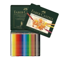 مداد رنگی 24 رنگ پلی کروم فابرکاستل