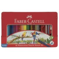 مداد آبرنگی 48 رنگ فابر-کاستل مدل Sketch