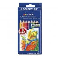 مداد رنگی 12 رنگ استدلر مدل Noris Club