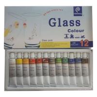 رنگ اکرلیک شیشه مموری کد 58 حجم 12 میلی لیتر بسته 12 عددی